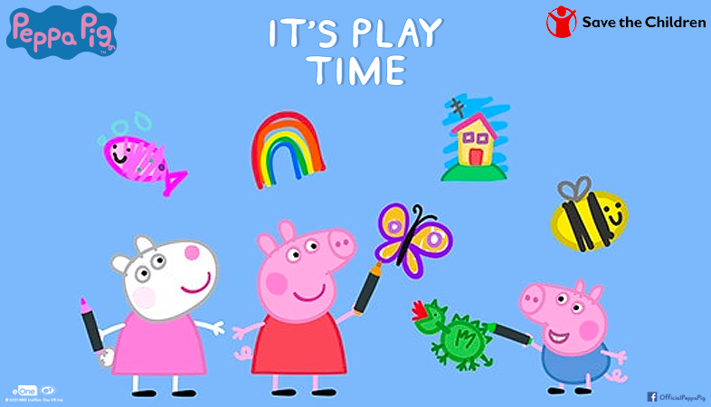 Save the Children with Peppa