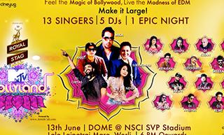 Live Viacom18 brings the biggest ever Bollywood Dance Music night 'MTV Bollyland' to Mumbai