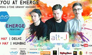 Emerge Festival is back this summer with the rock sensation ALT-J