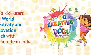 Nick Jr's Dora The Explorer celebrated World Creativity & Innovation Week with